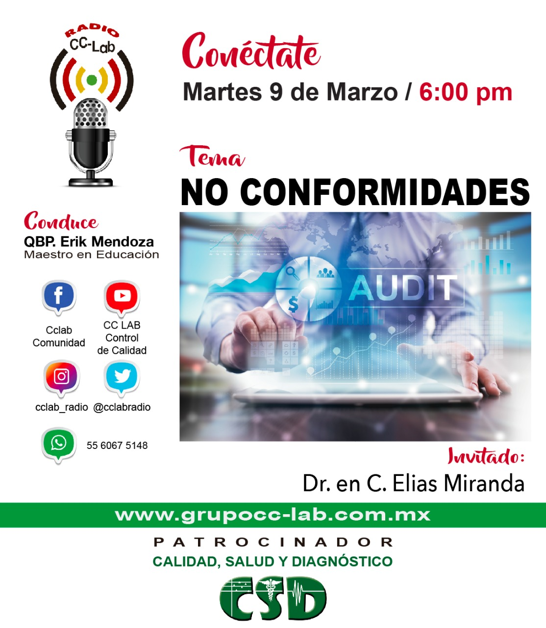 radio no conformidades